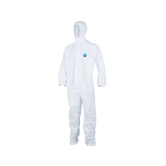 DuPont™ Tyvek® Coveralls - Collar, Open Wrists & Ankles Standard Disposable Coveralls